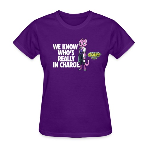WOMENS OFFICIAL PURRNELOPE IN CHARGE TEE - Women's T-Shirt