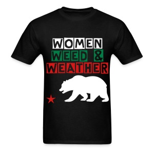 Women Weed & Weather T-Shirt - Men's T-Shirt