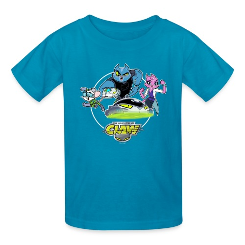 KIDS OFFICIAL CLAW HEROES/HOVERCAT TEE  - Kids' T-Shirt