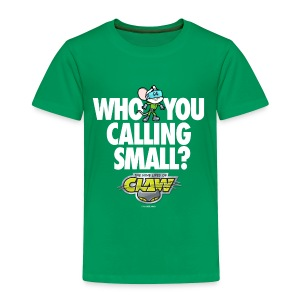 TODDLER EDISON WHO YOU CALLING TEE  - Toddler Premium T-Shirt