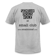 T-Shirts ~ Men's T-Shirt by American Apparel ~ senior small club (men's)