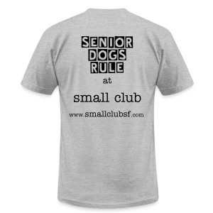senior small club (men's) - Men's T-Shirt by American Apparel