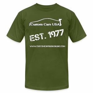CCU Men's Army T1 - Men's Fine Jersey T-Shirt