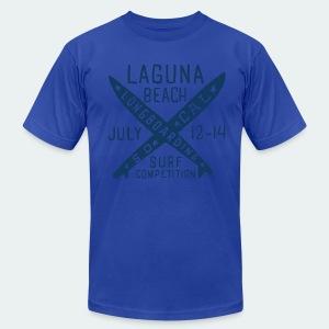 American Apparel ,Tribe Crest Tribal t-shirts tribecrest  - Men's Fine Jersey T-Shirt