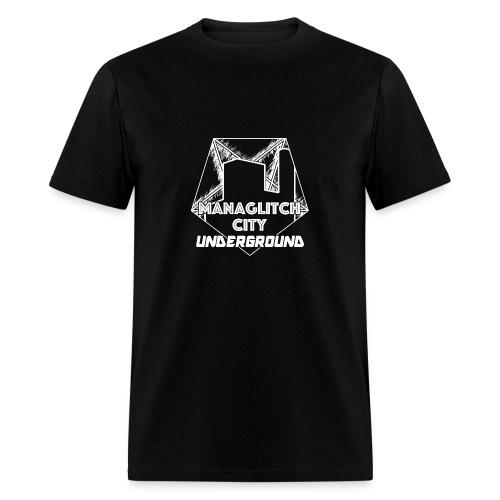 Managlitch Aura Pentagram men's t-shirt - Men's T-Shirt