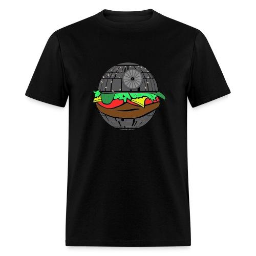 DEATH STAR CHEESEBURGER T-SHIRT - Men's T-Shirt