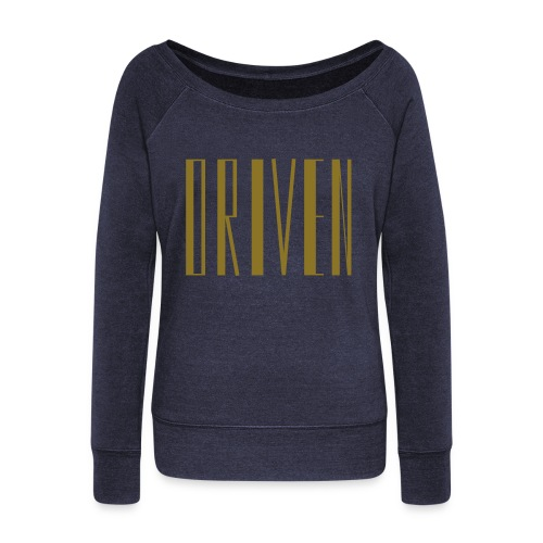 Driven Sweater - Women's Wideneck Sweatshirt
