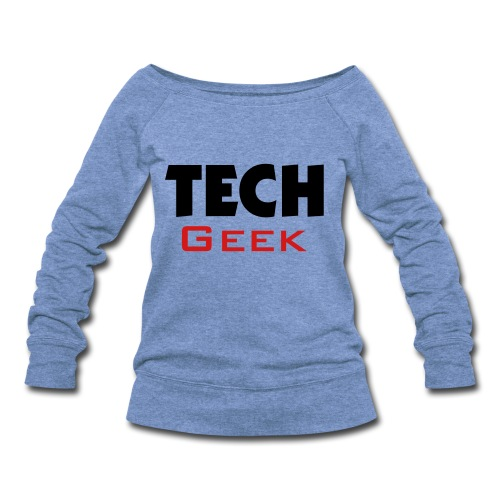 Tech Geek Sweater - Women's Wideneck Sweatshirt
