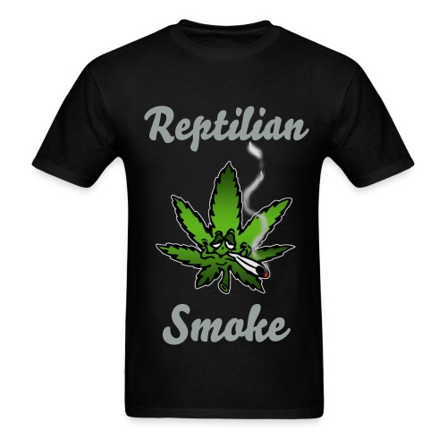 Reptilian Smoke - Men's T-Shirt