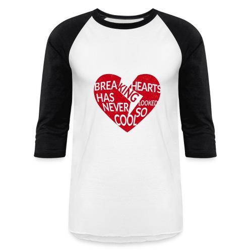 Read heart - Baseball T-Shirt