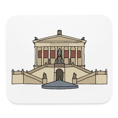 Old National Gallery BERLIN - Mouse pad Horizontal