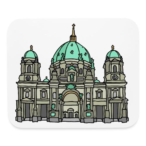 Berlin Cathedral - Mouse pad Horizontal