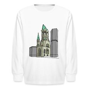 Memorial Church Berlin - Kids' Long Sleeve T-Shirt