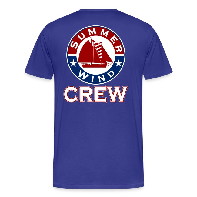 Summer Wind 2018 Crew T Blue