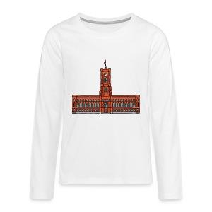 Red City Hall Berlin - Kids' Premium Long Sleeve T-Shirt