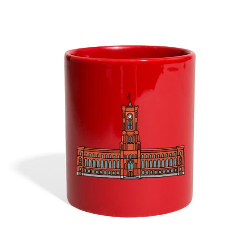 Red City Hall Berlin - Full Color Mug