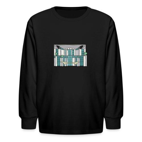 Chancellery in Berlin - Kids' Long Sleeve T-Shirt