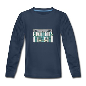 Chancellery in Berlin - Kids' Premium Long Sleeve T-Shirt
