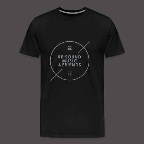 Re:Sound Music & Friends 2018 - T-Shirt - Men's Premium T-Shirt