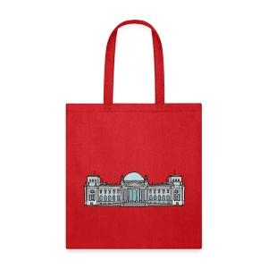 Reichstag building in Berlin - Tote Bag