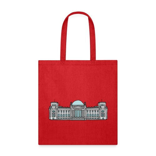 Reichstag building in Berlin - Tote Bag