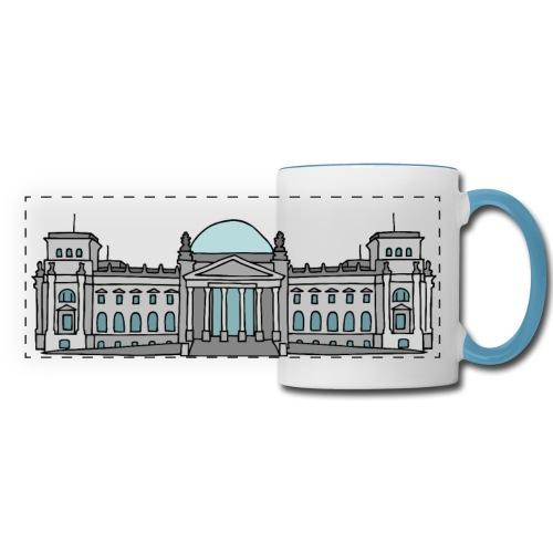 Reichstag building in Berlin - Panoramic Mug