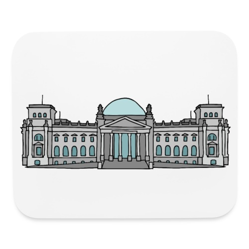Reichstag building in Berlin - Mouse pad Horizontal
