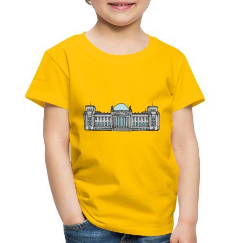Reichstag building in Berlin - Toddler Premium T-Shirt