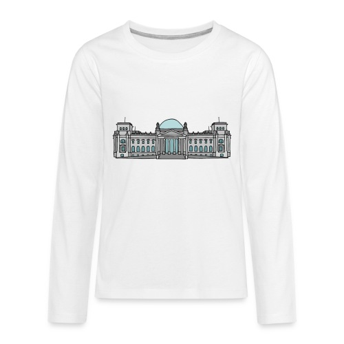 Reichstag building in Berlin - Kids' Premium Long Sleeve T-Shirt