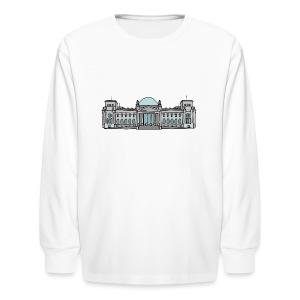 Reichstag building in Berlin - Kids' Long Sleeve T-Shirt