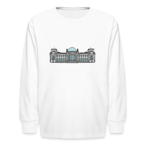 Reichstag building in Berlin - Kids' Long Sleeve T-Shirt