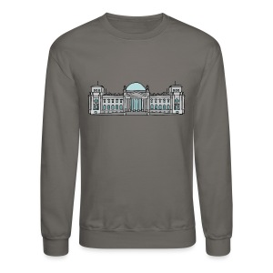 Reichstag building in Berlin - Crewneck Sweatshirt