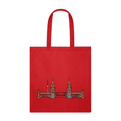 Oberbaum Bridge in Berlin - Tote Bag