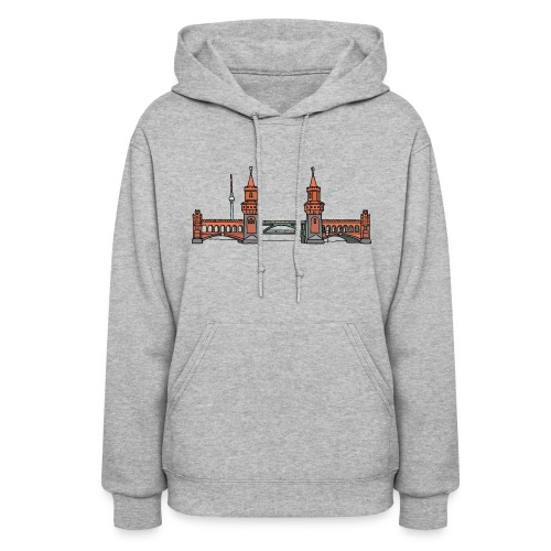Oberbaum Bridge in Berlin - Women's Hoodie
