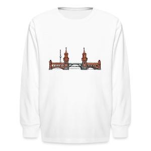 Oberbaum Bridge in Berlin - Kids' Long Sleeve T-Shirt