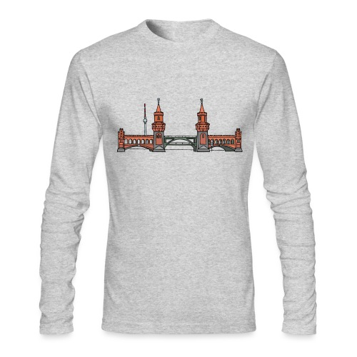 Oberbaum Bridge in Berlin - Men's Long Sleeve T-Shirt by Next Level