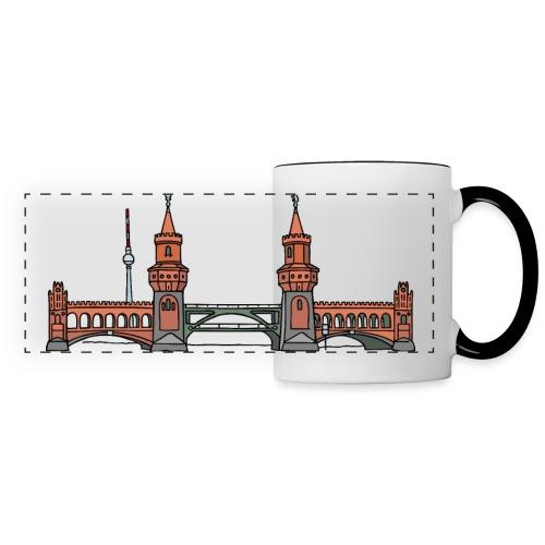 Oberbaum Bridge in Berlin - Panoramic Mug