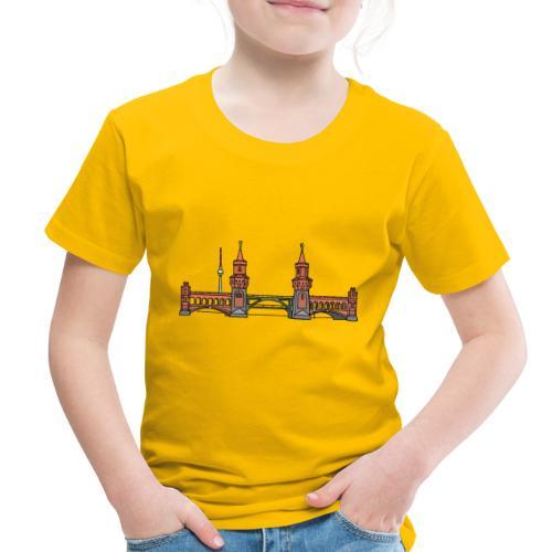 Oberbaum Bridge in Berlin - Toddler Premium T-Shirt