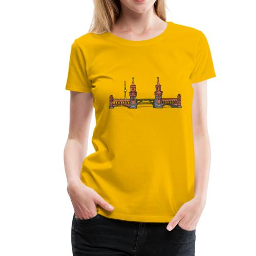 Oberbaum Bridge in Berlin - Women's Premium T-Shirt