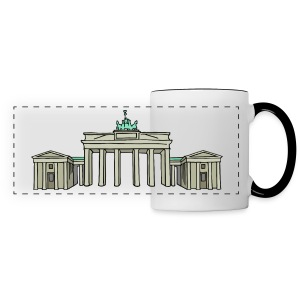 Brandenburg Gate in Berlin - Panoramic Mug