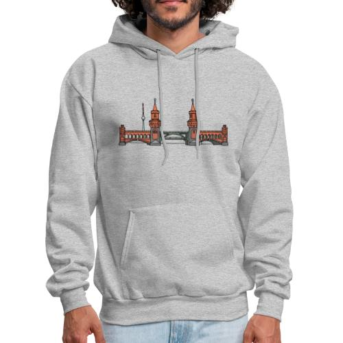 Oberbaum Bridge in Berlin - Men's Hoodie