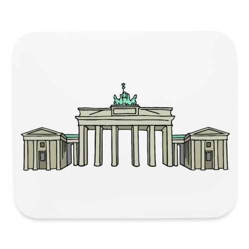 Brandenburg Gate in Berlin - Mouse pad Horizontal