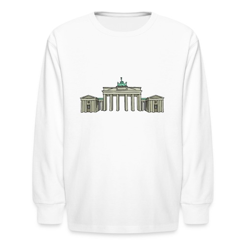 Brandenburg Gate in Berlin - Kids' Long Sleeve T-Shirt