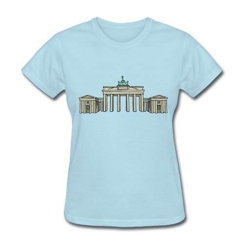 Brandenburg Gate in Berlin - Women's T-Shirt