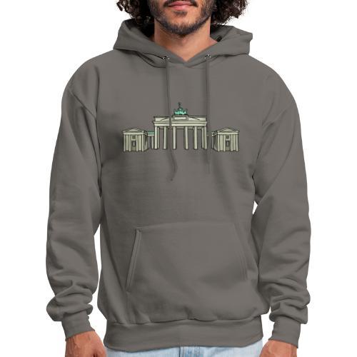 Brandenburg Gate in Berlin - Men's Hoodie