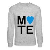 Long Sleeve Shirts ~ Crewneck Sweatshirt ~ Soulmate MATE Pair Couple Shirt
