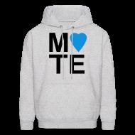 Hoodies ~ Men's Hoodie ~ Soulmate MATE Pair Couple Shirt