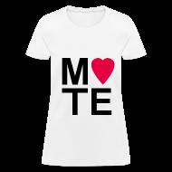 Women's T-Shirts ~ Women's T-Shirt ~ Soulmate MATE Pair Couple Shirt