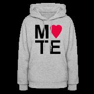 Hoodies ~ Women's Hoodie ~ Soulmate MATE Pair Couple Shirt