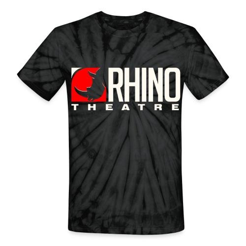 Rhino Theatre Unisex Black Tie Dye Tee - Unisex Tie Dye T-Shirt